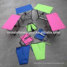 Cadeira dobrável de bolso pesca de lazer ao ar livre