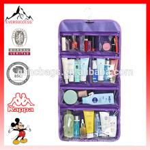 Plegable Clear Hanging Travel Toiletry Bag Cosmetic Organizer Storage