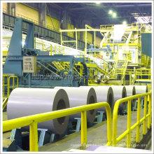 Bobina de acero galvanizado de alta resistencia térmica recubierta de color