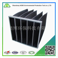 Medios de filtro de aire plisado de alta calidad