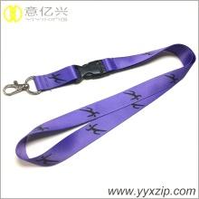 fashion promotion supple thin neck lanyard wholesale