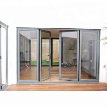 Puerta batiente de aluminio abatible dentro