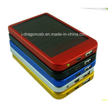 2600mAh Power Bank Solar USB Powerbank for Smartphone