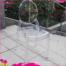 2016 beliebtesten Stuhl klare Harz Stuhl mit großem Preis
