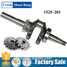 Engine Common Used Crankshaft 152F, Steel forged crankshaft, crankshaft
