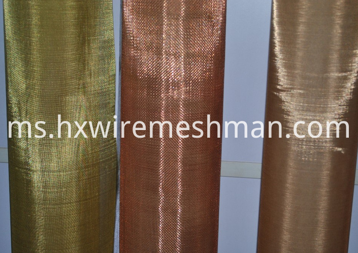 copper mesh fabric