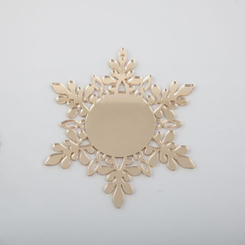 Custom Engraved Hanging Snowflake
