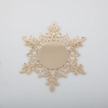 Flocons de neige en acrylique de Noël