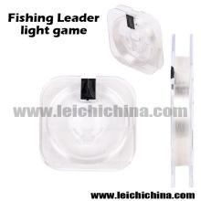Jeu de lumière de chef de poissons Ligne de pêche de fluorocarbone