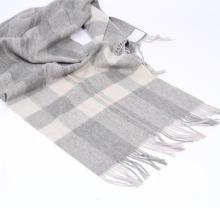 Écharpe en laine tissée 100% laine mérinos vierge