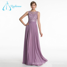 Comfortable Lace Sashes Chiffon Sleeveless Bridesmaid Dresses