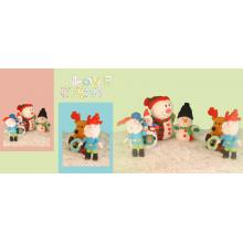Jouets de peluche de cadeau de Noël
