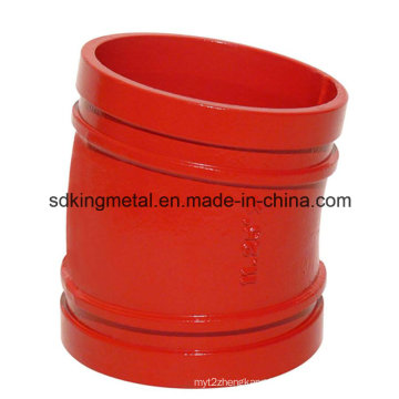 Ductile Iron Threaded NPT 11.25 Degree Elbow