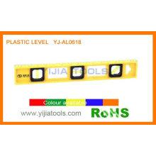 Nível de plástico com preços baratos YJ-AL0618