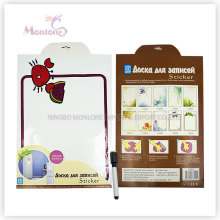 Promotional Gift 33*48cm Memo Pad Sticker with Marker