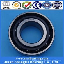 China fábrica única linha 15 * 35 * 11mm rolamento de esferas de contato angular 7202