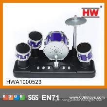 Hot Sale b/o plastic mini jazz drum set