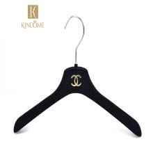 Wholesale black luxury velvet hangers 50 for clothes