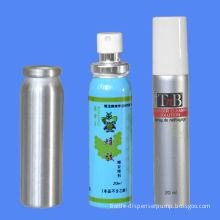 20ml Metal Aluminum Spray Bottle With Cap And Pump Sprayer For Aerosol
