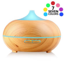 400ml Ultrasonic Transparent Wood Grain Humidifier