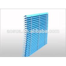Eliminateur de dérive de la tour de refroidissement bleu utilisé dans la tour de refroidissement à eau carrée