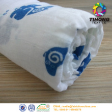 cotton muslin fabric for baby