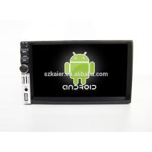 Quad core! Dvd do carro com link espelho / DVR / TPMS / OBD2 para 7 polegada tela de toque quad core 4.4 sistema Android DECKLESS Universal 4