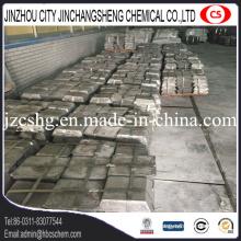 Exportation de lingot d'antimoine de grande pureté pour l'usine de batterie