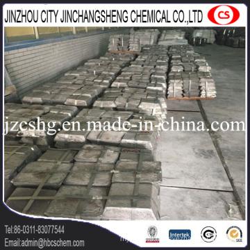 Metal Antimony Ingot for Metallurgy Sb 99.65%Min