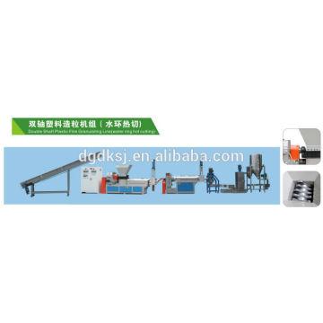 lado de alimentación de máquina de reciclaje plástica SJ-160