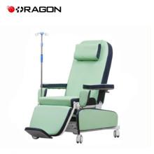 DW-HE006 hospital elétrico médico paciente sangue diálise reclinável cadeiras para venda