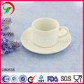 white plain coffee mugs,porcelain coffee cup and saucer