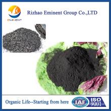 fertilizante orgánico de algas marinas soluble en ácido algínico