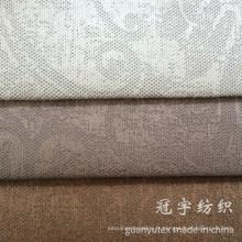 Tissu de velours côtelé en nylon gaufré par modèle pour la tapisserie d'ameublement