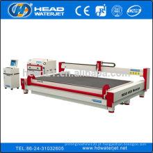 Venda quente CNC água jato corte máquina preço