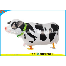 2016 Hot Sell Air Walking Pet Balloon Toy Cow for Christms Gift