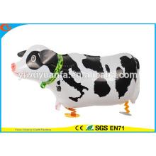 2016 горячие продаем воздушные прогулки Pet воздушном шаре игрушки корова для Christms подарков