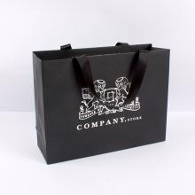 Bolso de papel de alta calidad del portador de las compras del precio de fábrica de la calidad