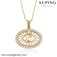 32764 fashion stone jewelry 18k gold muslim gold pendant gold allah pendants