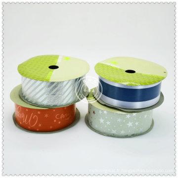 Meilleur rouleau de ruban de satin de polyester en gros de qualité