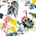 High Quality Custom Digital Printing Polyester Fabric (PPF-042)