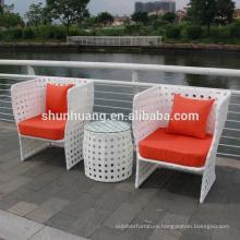 Hot selling cozy outdoor furniture patio rattan sofa set