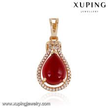 32874 Luxury women accessories jewelry imitation Synthetic CZ pendant fashion jewelry