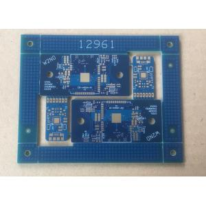 4 layer Blue Solder via in pad PCB