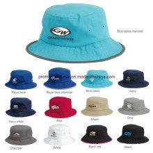 Tampão da cubeta do desportista com os chapéus biométricos da pesca de 100%
