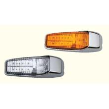 Lampadaire de dégagement de marqueur de cabine LED pour remorques