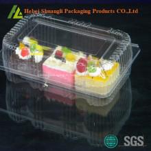 emballage en plastique à clapet en carton