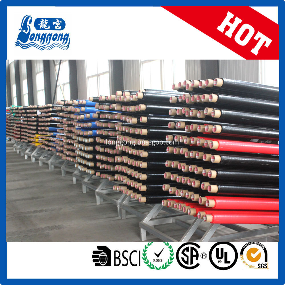 Colorful pvc tape log roll