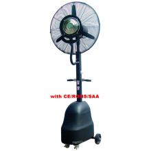 Ventilador elétrico da névoa exterior / lâmina de alumínio, motor de cobre / CE / RoHS / ventilador de SAA