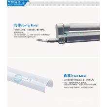 Novos produtos quentes para 2014 3014smd levou tubo luz integrada T5 7w 600 milímetros garantia de 2 anos CE RoHs